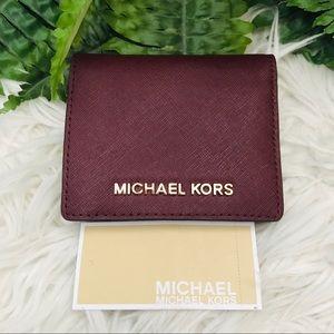 Michael Kors - Flap Card Holder Wallet